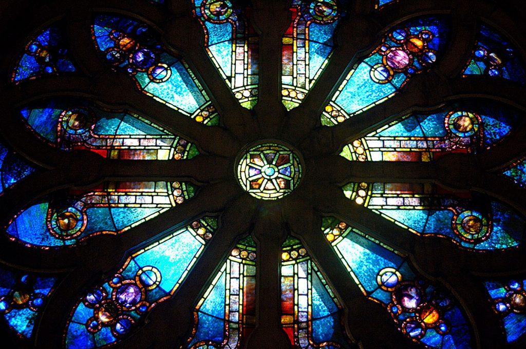 St Louis Bascilica Window