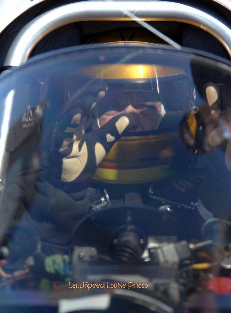 George Poteet in Speed Demon Streamliner