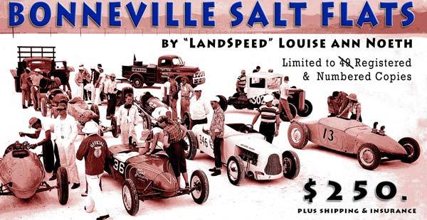 Bonneville Salt Flats - Author's Limited Edition Book